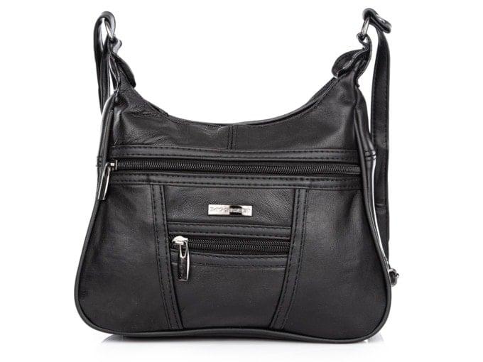 Czarna mała torebka skórzana Bag Street