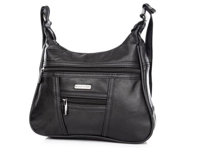 Dwie kieszonki z przodu torby