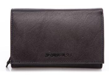 Badzo duży portfel J Jones czarny