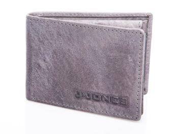 Mały szary portfel J Jones