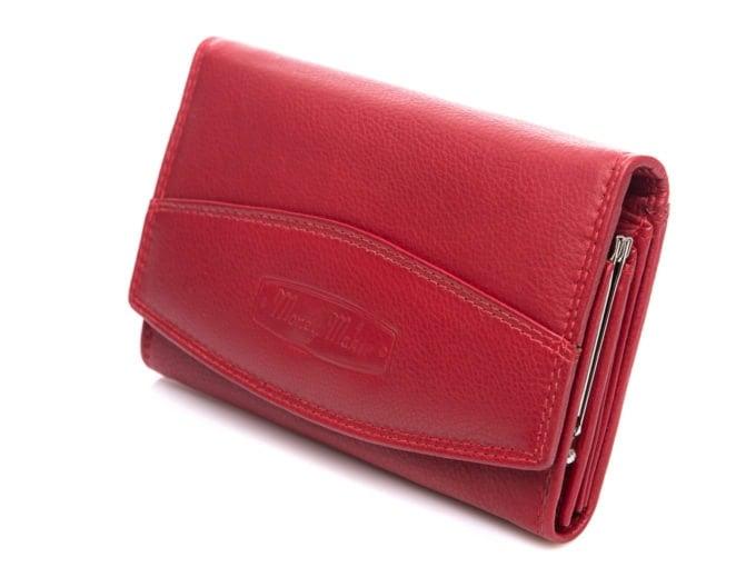 Czerwony portfel Money Maker