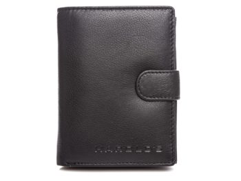 Klasyczny portfel męski czarny Harold's