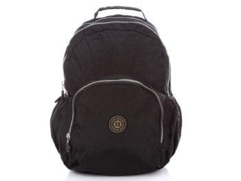 Czarny lekki plecak z kreszu