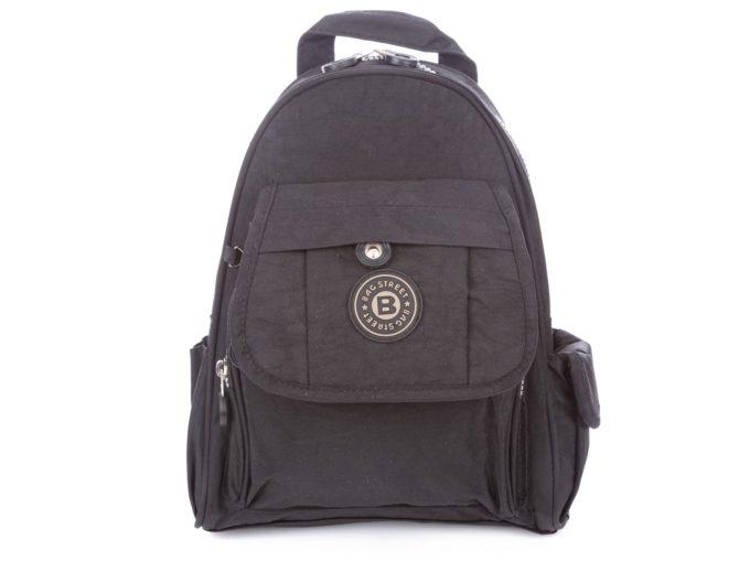 Czarny lekki plecak Bag Street 2229