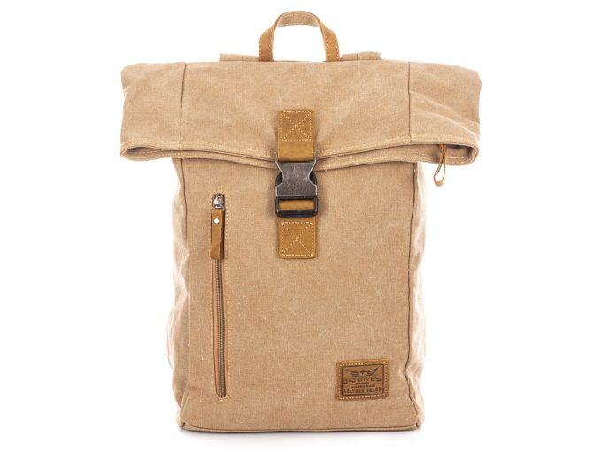 Trekkingowy brązowy plecak J Jones z kominem