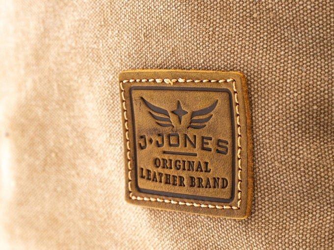 Znaczek skórzany J Jones Original Leather Brand