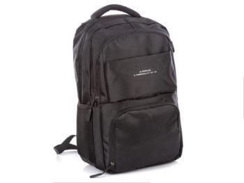 Plecak biznesowy czarny J Jones z portem USB