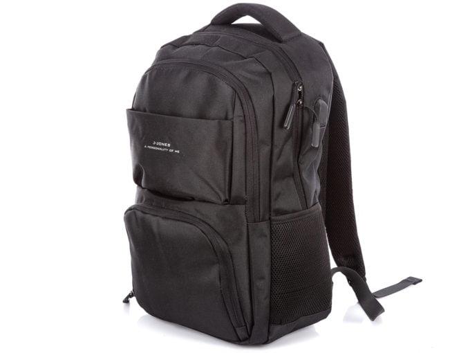 Czarny plecak J Jones biznesowy