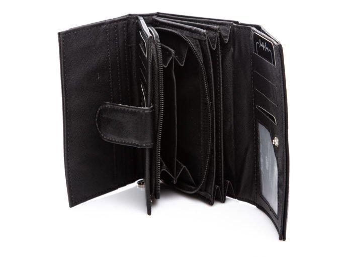 Widok na wnętrze portfela