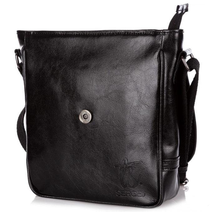 Zamek magnetyczny trzymający klapkę torby