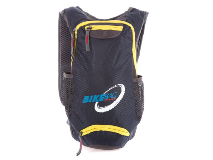 Plecak rowerowy szaro-żółty Bag Street