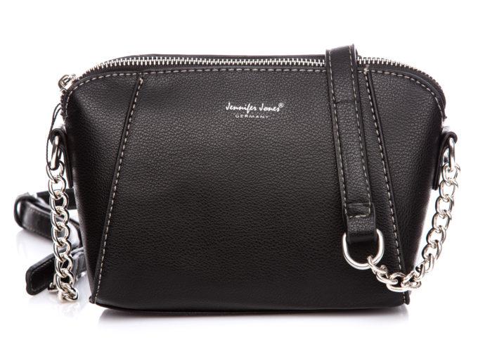 Mała czarna torebka wieczorowa Jennifer Jones
