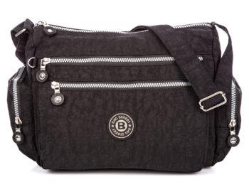 Czarna duża lekka torba materiałowa Bag Street