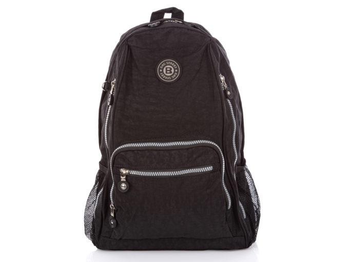 Duży czarny plecak turystyczny Bag Street
