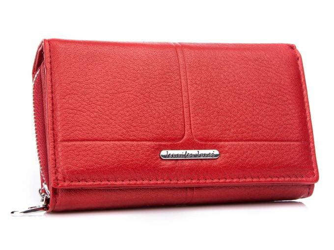 Duże portfele damskie skórzane