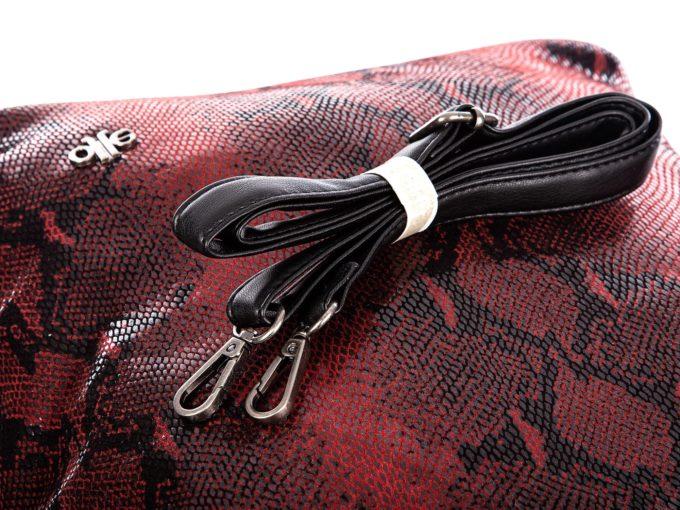Czerwone torebki damskie