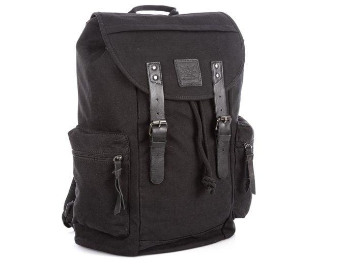 Czarne plecaki męskie