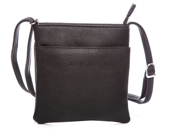 Mała czarna torebka damska na ramię Jennifer Jones