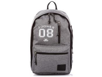 Szary plecak młodzieżowy J Jones