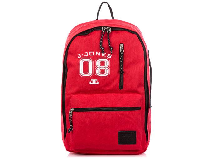 Czerwony plecak młodzieżowy J Jones
