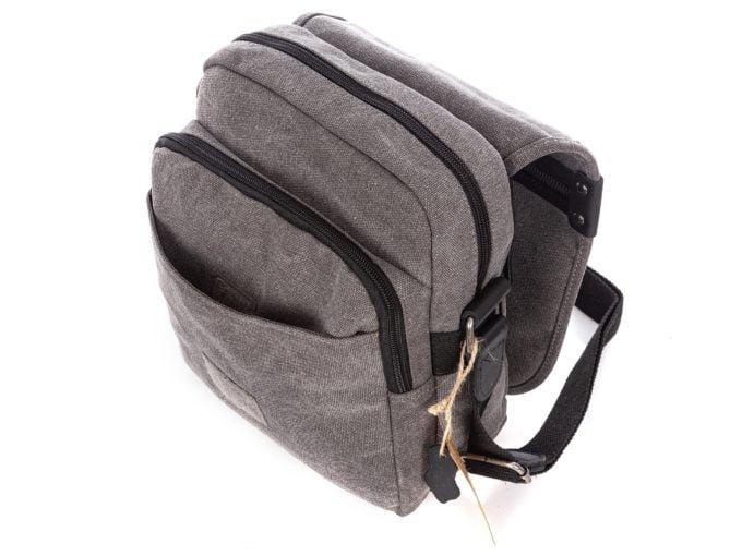 Materiałowe torby męskie na ramię