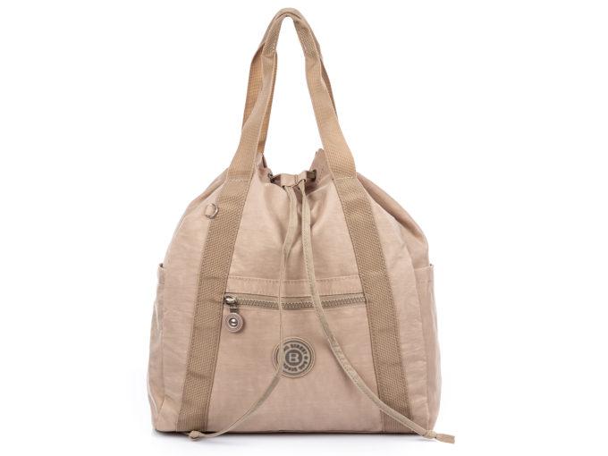 Torebka do ręki i plecak w jednym beżowa Bag Street
