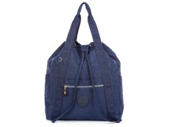 Granatowa plecako torba damska Bag Street