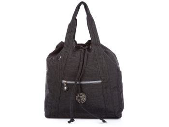 Czarna torebka plecak 2w1 Bag Street