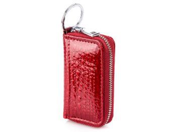 Damskie etui na klucze lakierowane czerwone Jennifer Jones