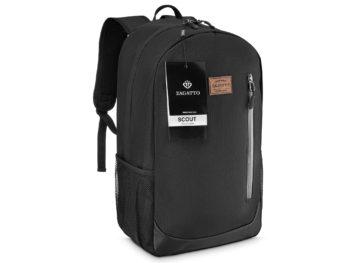 praktyczny plecak czarny ZAGATTO ZG63 Scout