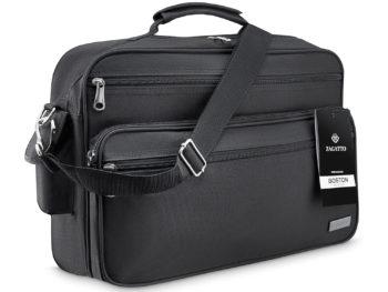 czarna torba męska A4 Zagatto Boston ZG142