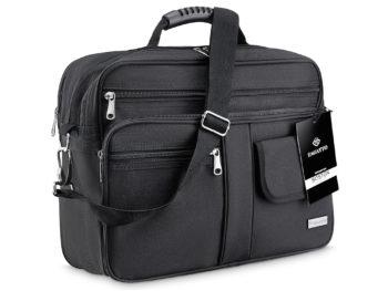 pojemna torba męska czarna do pracy ZAGATTO