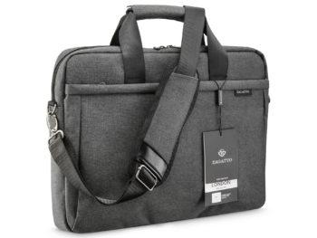 szara torba na laptopa 15,6 ZAGATTO ZG107