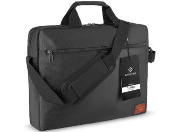 torba na laptopa ZAGATTO czarna TOKIO