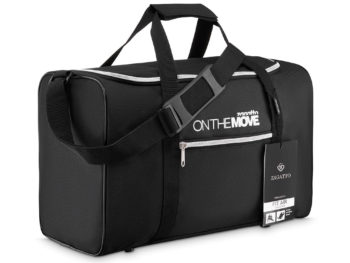 czarna torba podróżna Zagatto ZG17