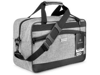 szaro czarna torba podróżna Zagatto ZG11