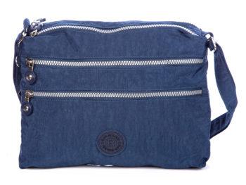 Niebieska torba na ramię Bag Street