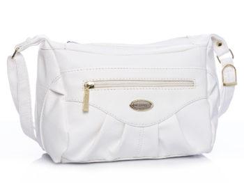 Biała elegancka torebka damska na ramię Bag Street