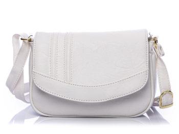 Mała biała torebka damska na ramię Bag Street