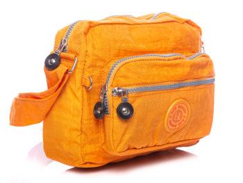 Lekka pomarańczowa torebka Bag Street