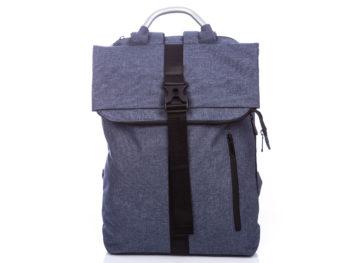 Wysoki plecak na laptopa Bag Street niebieski