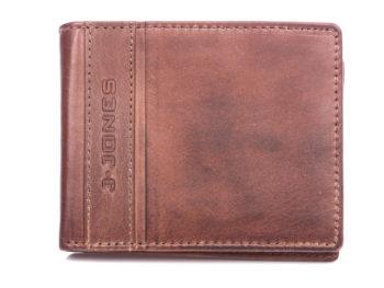 Brązowy portfel męski J Jones