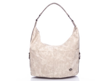 Beżowa torebka damska do ręki Jennifer Jones