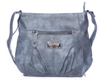 Torebka damska Bag Street klasyczna na ramię niebieska
