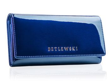 Niebieski portfel Betlewski