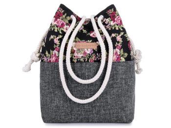 Plecako-torba damska Zagatto ze sznurkami