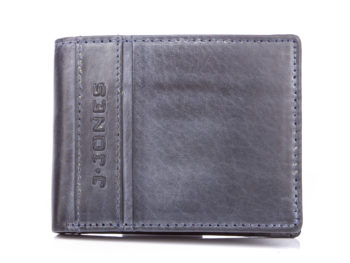 Poręczny skórzany portfel męski J Jones