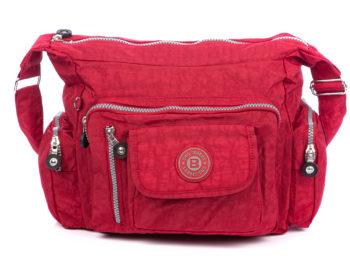 Lekka torba na ramię czerwona Bag Street