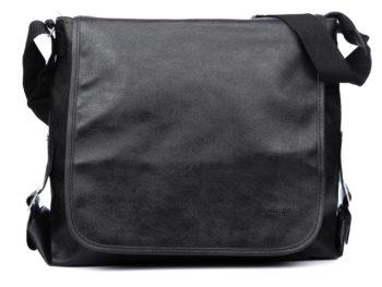 Dużą torba męska skóra ekologiczna Bellugio